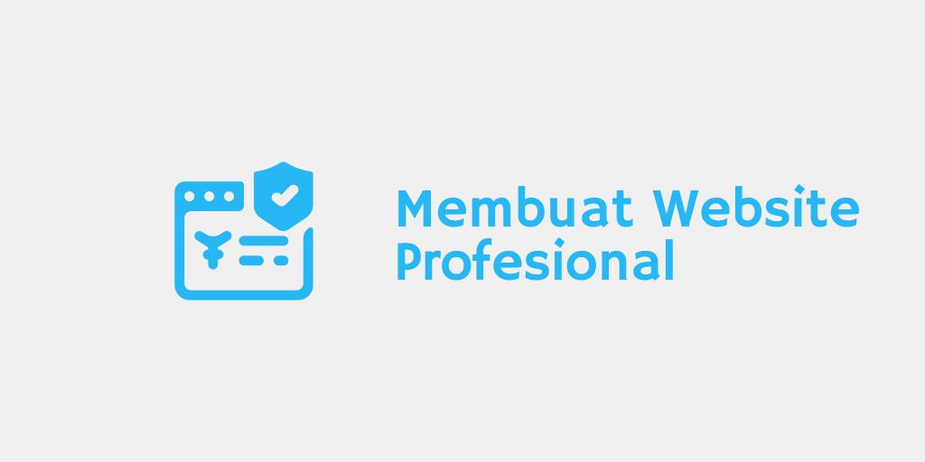 Membuat Website Profesional